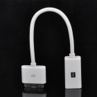 iPad to USB Host Adapter Cable Camera Connection Kit - White (20.5cm-Length)