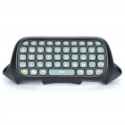 47-Key Keyboard for Xbox 360 Controller - Black