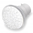 B22 2.2W 6500K 155-Lumen 38-LED White Light Bulb (AC 230V)
