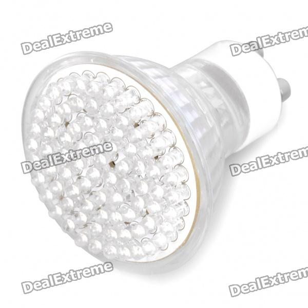 GU10 5W 6800K 360-Lumen 80-LED White Light Bulb (AC 230V)