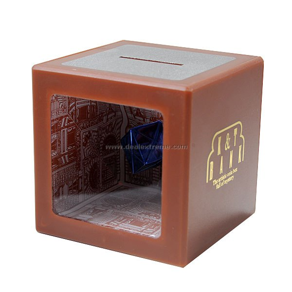 Magical See-Thru Money Disappearing Coin Bank