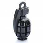 Buy Cool Grenade Shaped Bicycle Bike Tyre Tire Valve Dust Cap Cover - Black (2 Piece Pack)
