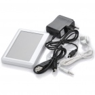 "Portable 4.3"" Touch Screen Multi-Media Player w/ FM / 3.5mm Jack / TV-Out / TF Slot - White (4GB)"