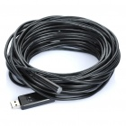 Waterproof USB 2.0 CMOS White 4-LED Illuminated Snake Camera Endoscope (14M-Length)