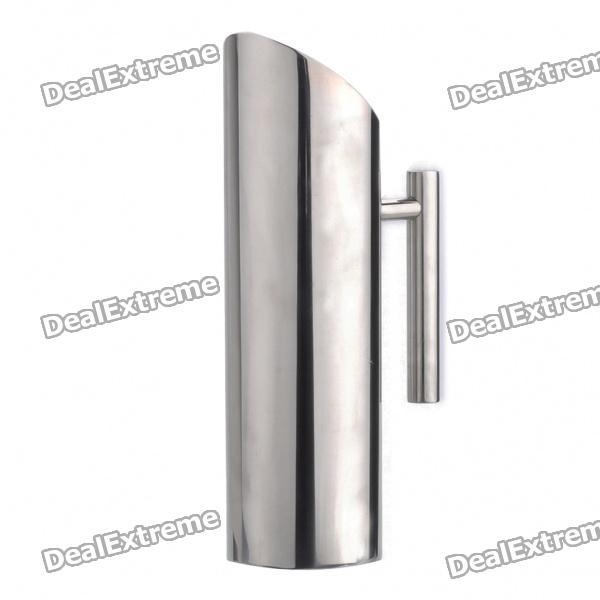 Oblique Mouth Stainless Steel Cold Water Pot Bottle with Handle - Silver (1700ml) stainless steel handle cuticle fork silver