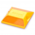 PVC Warning Road Stud Reflector - Orange