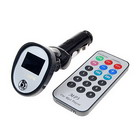 14-Channel USB FM Transmitter MP3 Player with Color LCD and Remote (1GB)