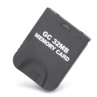 GC Memory Card for Nintendo Wii - Black (32MB)