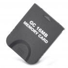 GC Memory Card for Nintendo Wii (16MB) - Black