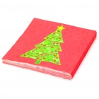 Christmas Tree Paper    Napkin