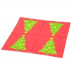 Christmas Tree Pattern Paper Napkin Serviettes (20-Piece Pack)