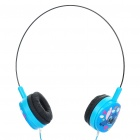 Cute The Smurf Style Headphones - Blue (3.5mm Jack)
