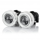 1W 5000K 300-Lumen Car Angel Eyes (DC 12V/Pair)