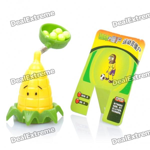 Cute Plants vs Zombies Cob Cannon Toy - Green + Yellow