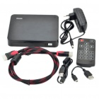 J04 Full HD 1080P Android 2.3 Internet TV Box Media Player w/ USB/SD/HDMI/RJ45 - Black (2GB)