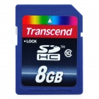 Transcend 8GB SDHC SD Card (Class 10 High Speed)