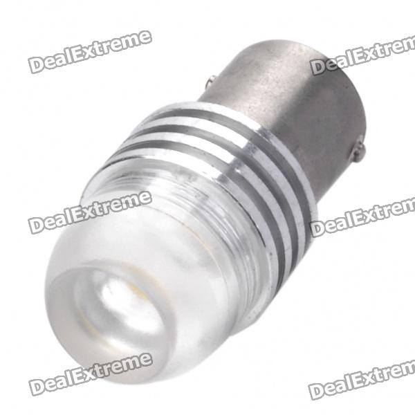 1156 3W 7000K 60-Lumen 2-LED White Light Car Tail Lamp (DC 12V)
