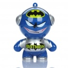 Mini Cool Batman Style Music Speaker - Blue