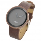 Simple Watch Fashion Quartz Wrist Watch - Brown (1 x LR626)