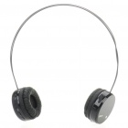Fashion Bluetooth Stereo Handsfree Headset Earphone with Microphone - Black