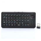 2.4GHz Wireless 49-Key Keyboard with Mouse Function - Black