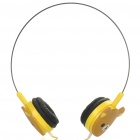 Cute Rilakkuma Bear Style Head Set (3.5mm Audio Plug/110cm-Cable)