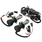 H4 Hi/Lo 35W 8000K 3200LM Cold White Xenon HID Headlamps (DC 12V/Pair)