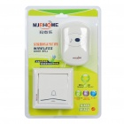 Stylish Wireless Doorbell with 36-Melody - White (AC 220V)