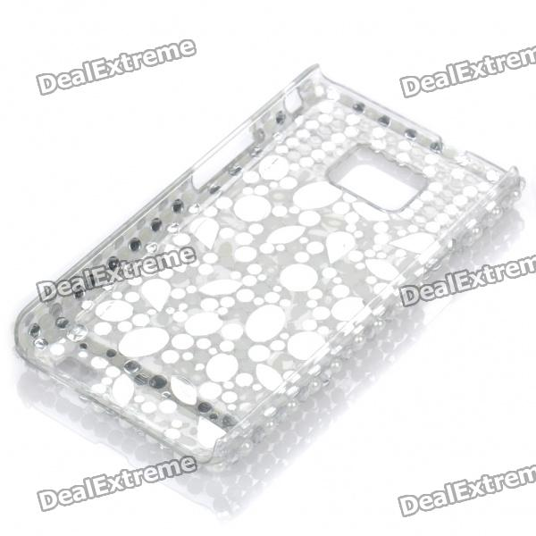 Shining Rhinestone Protective Plastic Back Case for Samsung Galaxy S2 / i9100