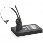 Telephone Bluetooth Handsfree Landline Base w/ Headset - Black