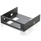"ORICO HD-BR525 Aluminum Alloy 3.5"" HDD to 5.25"" Drive Slot Rack Bracket for Desktop PC - Blue"