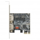 PCI-E PCI Express to 2 x eSATA + 2 x SATA II RAID Adapter
