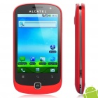 "ALCATEL OT-990M 3.5"" Capacitive Screen Android 2.2 3G WCDMA Smartphone w/ GPS + WiFi - Red (4GB TF)"