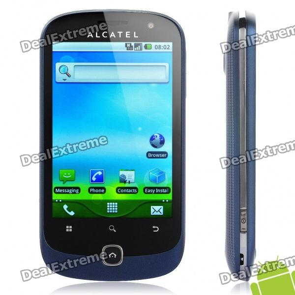 "ALCATEL OT-990m 3,5 ""Capacitive Screen Android 2.2 Smartphone 3G WCDMA w / GPS + WiFi - Blau (4GB TF)"