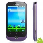 "ALCATEL OT-990M 3.5"" Capacitive LCD Android 2.2 3G WCDMA Smartphone w/ GPS + WiFi - Purple (4GB TF)"