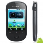 "ALCATEL OT-908 2.8"" Capacitive Screen Android 2.2 3G WCDMA Smartphone w/ GPS + WiFi - Black"