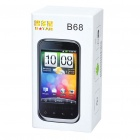 "B68M Android 2.3 Smartphone w/ 3.5"" Capacitive, Dual SIM, GSM Quadband, Wi-Fi and GPS - Gray"