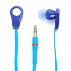 Designer's Cool In-Ear Stereo Earphone - Blue (3.5mm Jack/110cm-Cable)