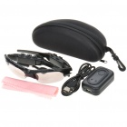 Cool Rechargeable Bluetooth V3.0+EDR Stereo Headset Sunglasses w/ Microphone (5 Hours-Talk)