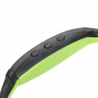 Rechargeable Sports Bluetooth V3.0 Headset w/ Microphone - Green (120 Minutes-Talk)