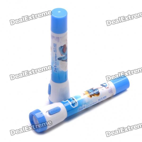 The Smurfs 2-in-1 Flashlight Torch + Ball-pen - Random Pattern (Pair / 3 x L736)