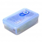 Lock and Lock Rectangular Airtight Preservation Box Case - Blue + Half Transparent