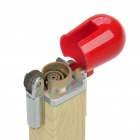 Match Style Windproof Butane Jet Torch Lighter - White