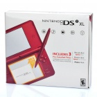 Genuine Nintendo DSi XL Portable Entertainment Console - Rose Red (Refurbished)