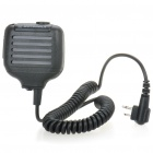 Motorola KMC-17 Heavy Duty Speaker Microphone w/ Earphone Jack