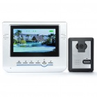 "7"" LCD 2.4GHz Wireless 300KP CMOS Digital Video Door Phone w/ 6-LED IR Night Vision"