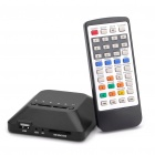 720P HD Media Player с AV / YUV / HDMI / USB / SD + More (черный)