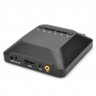 720P HD Media Player with AV/YUV/HDMI/USB/SD + More (Black)