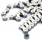 Replacement 8-Speed Chain for Mountain Bike - Silver + Grey (142cm)