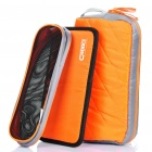Protective Electronic Products Storage Bag for Cell Phone/Power Cable/HDD - Orange (Set of 3)